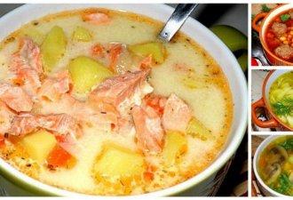 Чтобы не ломать голову))) Подборка вкуснейших супов на месяц.